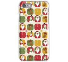 Christmas Countdown Pattern iPhone Case/Skin