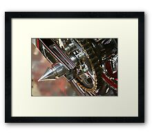 Whats The Point Framed Print