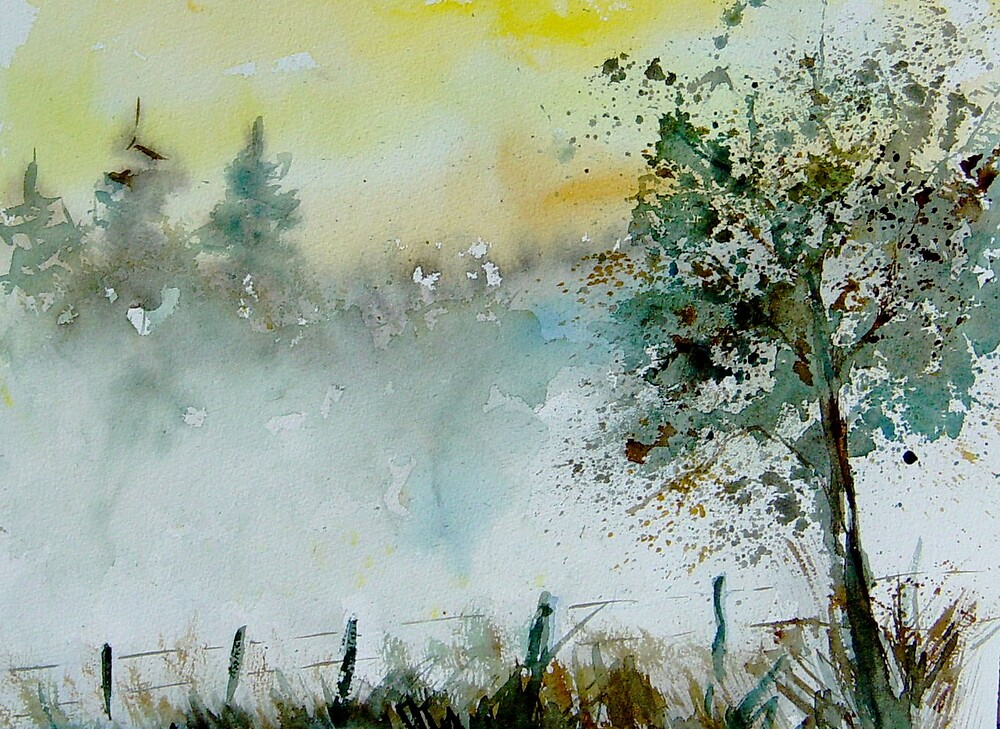Mist watercolor by calimero