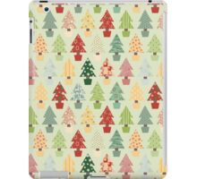 Christmas Trees Pattern iPad Case/Skin