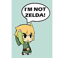 I'm Not Zelda Photographic Print