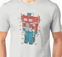 Optimus Prime Transformers Patent  Unisex T-Shirt
