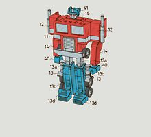 Optimus Prime Transformers Patent  T-Shirt