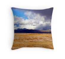 Storms of the Wild West Throw Pillow