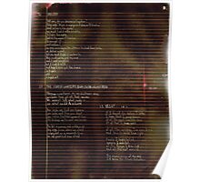 009 - Scattered Resistance -  Poetry Full Page Poster