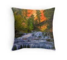 In the Middle Of Nature Throw Pillow