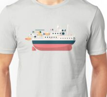 Minimalist Jacques Cousteau's Research Vessel Calypso Unisex T-Shirt