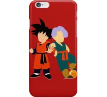 Minimalist Goten and Trunks  iPhone Case/Skin