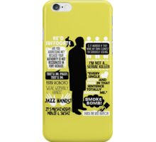 Archer - Dr. Algernop Krieger Quotes iPhone Case/Skin