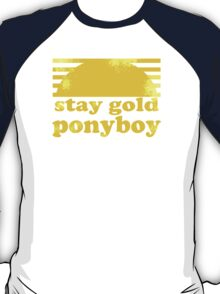 Stay Gold Ponyboy T-Shirt