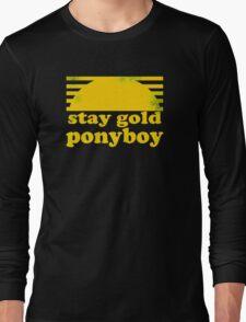 Stay Gold Ponyboy Long Sleeve T-Shirt