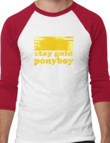 Stay Gold Ponyboy Men's Baseball ¾ T-Shirt