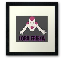 Lord Frieza Framed Print