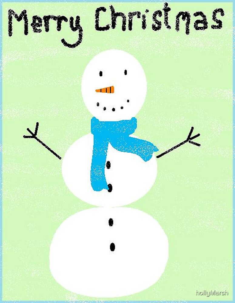 a snowy day! by hollyMarsh