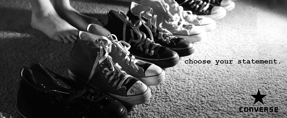 Ad Concept for Converse II by Aeyeduh