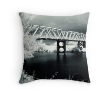 Morpeth  Bridge Throw Pillow