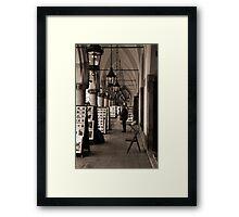 Krakow Arcade Framed Print