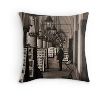 Krakow Arcade Throw Pillow