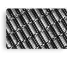 45 Brass #4 (Black & White) Canvas Print