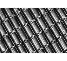 45 Brass #4 (Black & White) Photographic Print