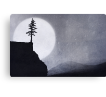 Over The Edge Of The Wild Canvas Print