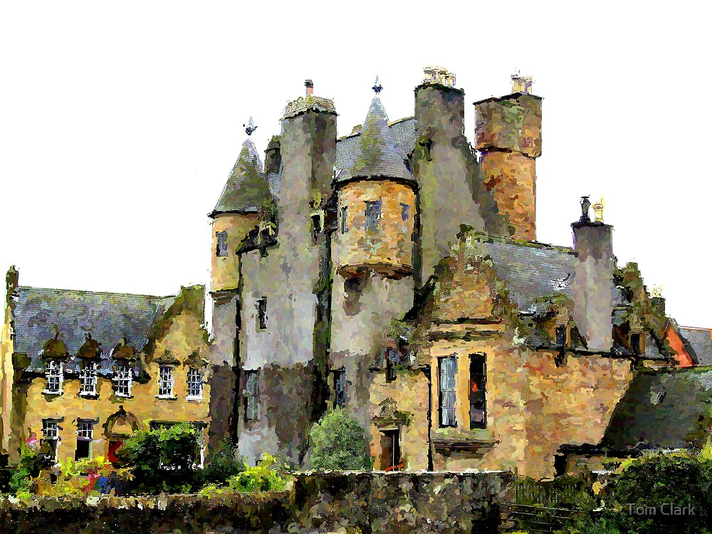 Maybole Castle. by Tom Clark