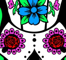Cybermen Sugarskull Sticker
