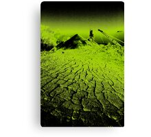 Depleted Earth Canvas Print