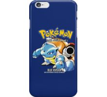 Pokemon Blue Edition iPhone Case/Skin