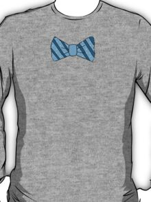 Funny Cute Blue bow tie T T-Shirt