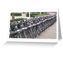 Solex Cycle Parade Greeting Card