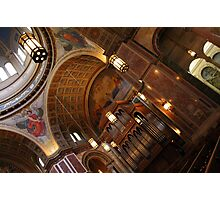 Inside Saint Matthew's Cathedral -- At An Angle Photographic Print
