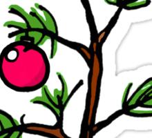 Peanuts Christmas Tree Sticker