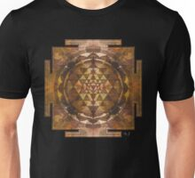 Sri Yantra gold Unisex T-Shirt