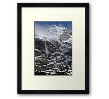 New Zealand Avalanche Framed Print