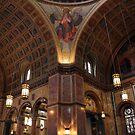 Inside Saint Matthew's Cathedral by Cora Wandel