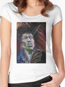 Jimmy Hendrix Women's Fitted Scoop T-Shirt