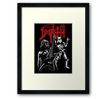 Darth Metal Framed Print