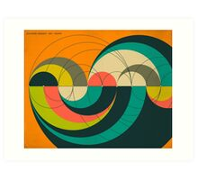 GOLDNER HARARY ARC GRAPH Art Print