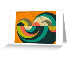 GOLDNER HARARY ARC GRAPH Greeting Card