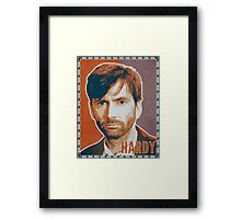 HARDY - Miller Orange (Broadchurch) Framed Print