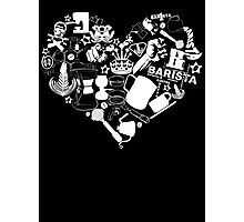 Barista Love Photographic Print