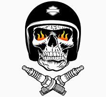 Skull Helmet Men's Baseball ¾ T-Shirt