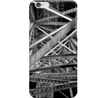 Steel Bridge in Black and White iPhone Case/Skin