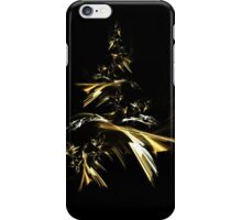 Golden Christmas Tree iPhone Case/Skin