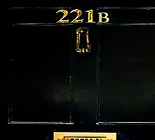 221B Door by thescudders