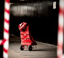 Lonely Post Bag by thirdiphoto