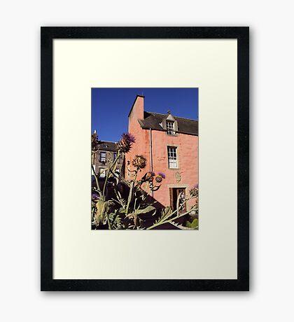 Emblematic Scotland Framed Print