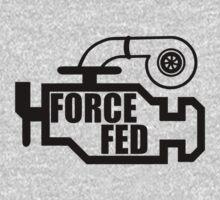 Force Fed - Check Engine light Kids Tee