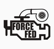 Force Fed - Check Engine light Kids Clothes